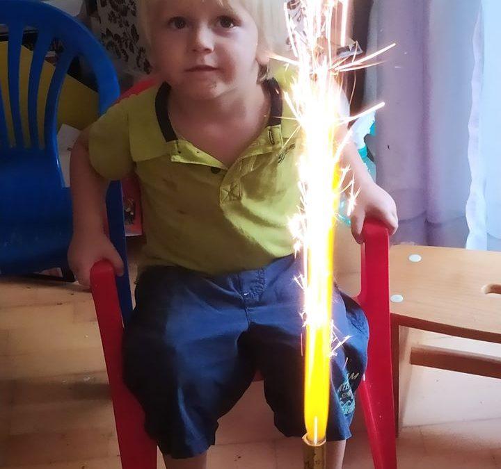 Gergő 3 éves